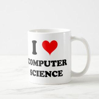 I Love Computer Science Coffee Mug