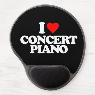 I LOVE CONCERT PIANO GEL MOUSE PAD