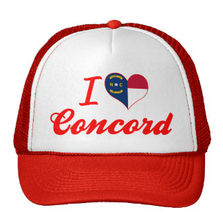 I Love Concord, North Carolina Cap