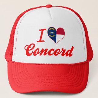 I Love Concord, North Carolina Trucker Hat