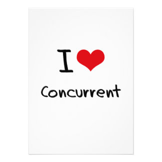 I love Concurrent Cards