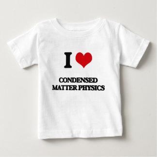 I Love Condensed Matter Physics Tee Shirt