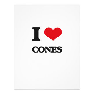 I love Cones Personalized Flyer