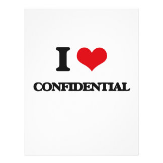 I love Confidential Flyers