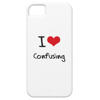 I love Confusing iPhone 5/5S Cases