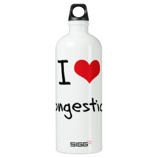 I love Congestion SIGG Traveler 1.0L Water Bottle