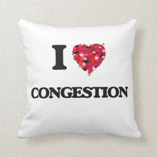 I love Congestion Throw Cushions
