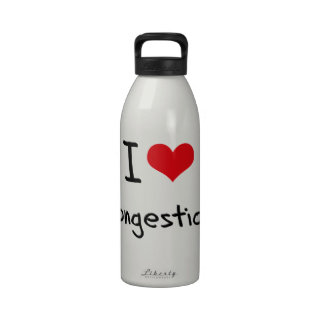 I love Congestion Water Bottle