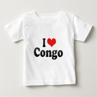 I Love Congo Baby T-Shirt