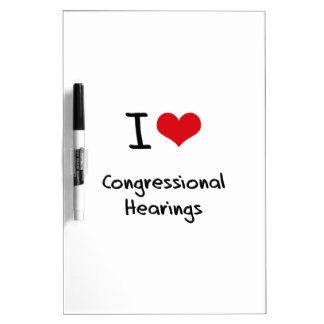 I love Congressional Hearings Dry-Erase Whiteboards