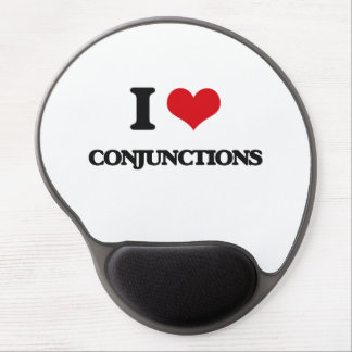 I love Conjunctions Gel Mouse Pad