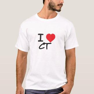 I LOVE CONNECTICUT CT T-Shirt