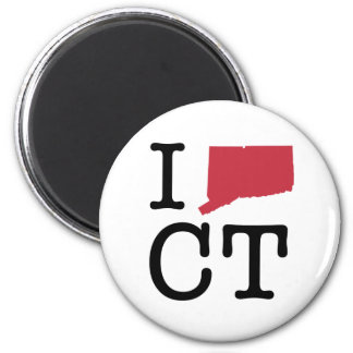 I Love Connecticut Magnet