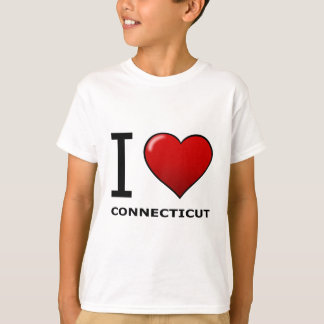 I LOVE CONNECTICUT T-Shirt