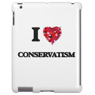 I love Conservatism iPad Case
