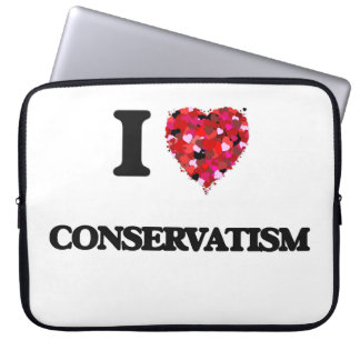 I love Conservatism Laptop Sleeve
