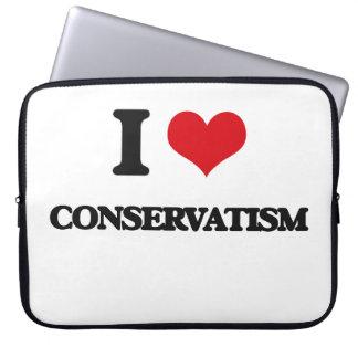 I love Conservatism Laptop Computer Sleeve