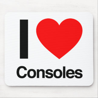 i love consoles mousepads