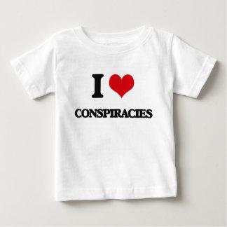 I love Conspiracies T Shirts