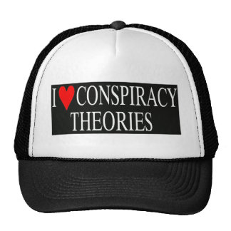 I Love Conspiracy Theories Cap