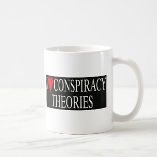I Love Conspiracy Theories Coffee Mug