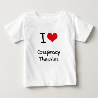 I love Conspiracy Theories T-shirt