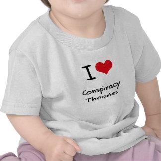 I love Conspiracy Theories Tee Shirt