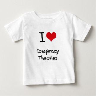 I love Conspiracy Theories Tshirts