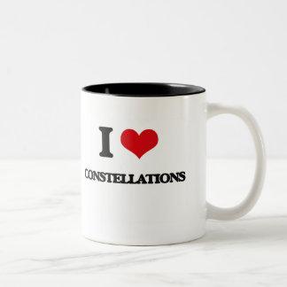 I love Constellations Coffee Mugs