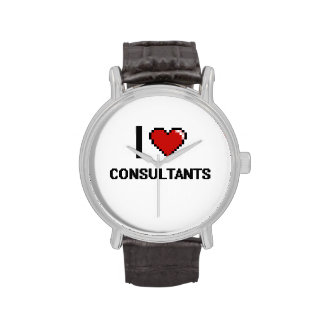 I love Consultants Wristwatch