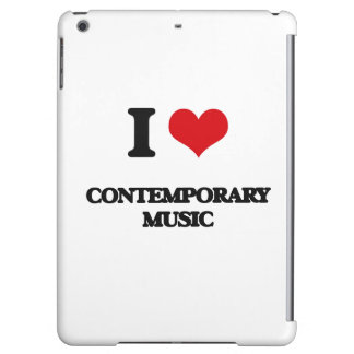 I Love CONTEMPORARY MUSIC iPad Air Covers