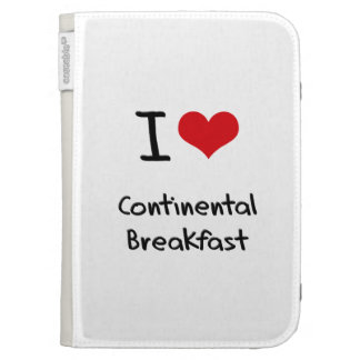 I love Continental Breakfast Cases For The Kindle