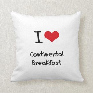 I love Continental Breakfast Pillows