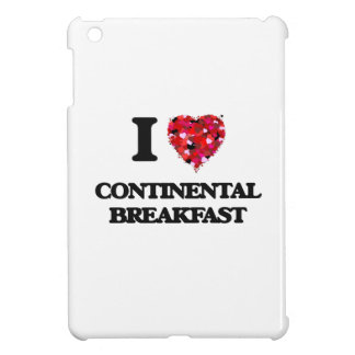 I love Continental Breakfast iPad Mini Covers