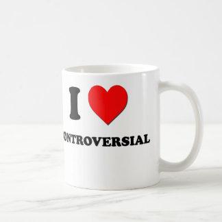 I love Controversial Basic White Mug