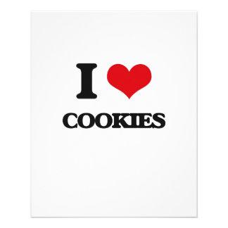 I love Cookies 11.5 Cm X 14 Cm Flyer