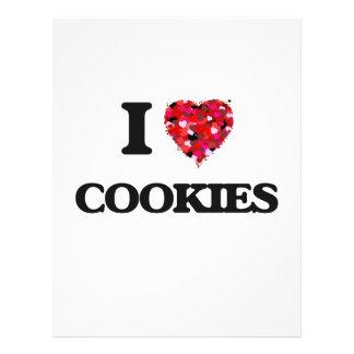 I love Cookies 21.5 Cm X 28 Cm Flyer