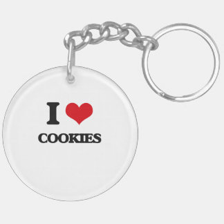 I love Cookies Acrylic Key Chain