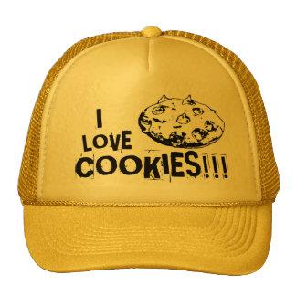 I love cookies - Truckercap Hats