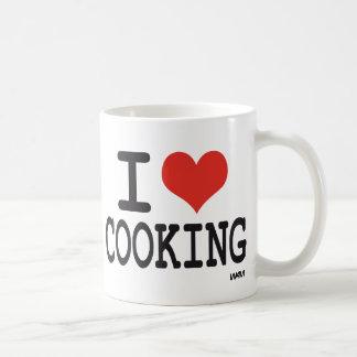 I LOVE COOKING COFFEE MUG