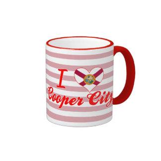 I Love Cooper City, Florida Mugs