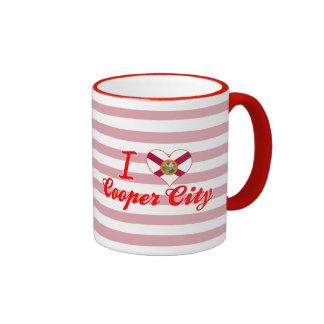 I Love Cooper City, Florida Coffee Mugs
