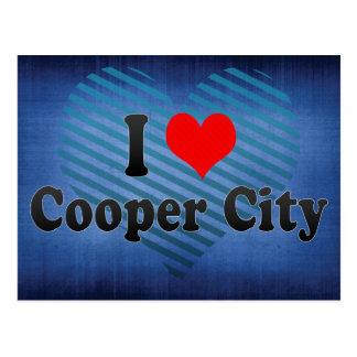 I Love Cooper City, United States Postcard