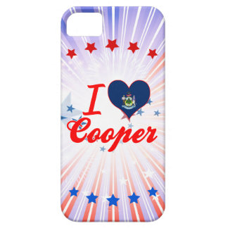 I Love Cooper, Maine iPhone 5/5S Cover