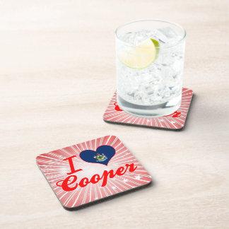 I Love Cooper Maine Coasters