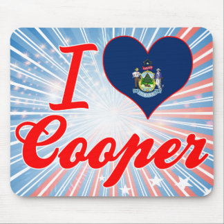 I Love Cooper Maine Mousepad