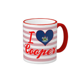 I Love Cooper, Maine Mugs
