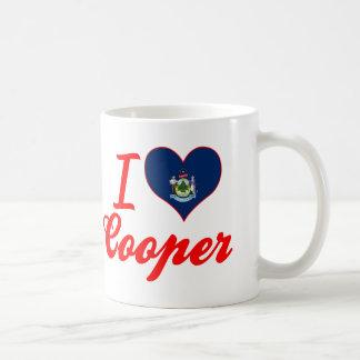 I Love Cooper, Maine Coffee Mug