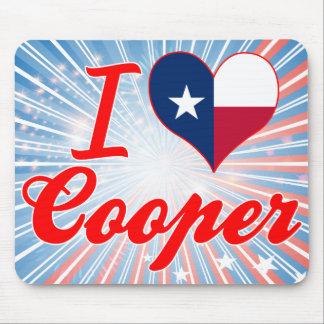 I Love Cooper Texas Mousepad