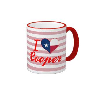 I Love Cooper, Texas Coffee Mug